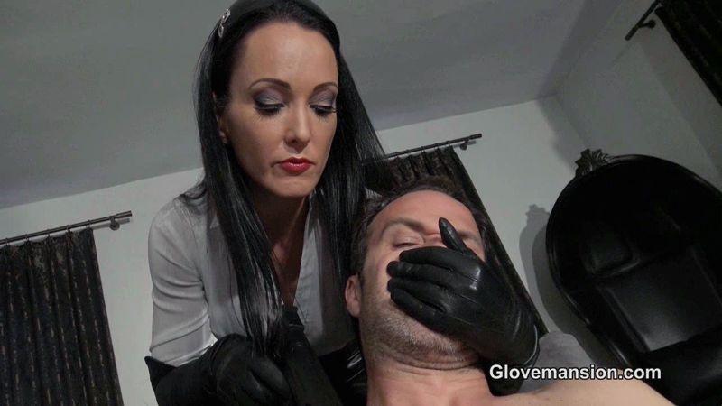 Glove Mansion – Hitwoman's orgasm challenge part 1. Starring Fetish Liza  [Glove Mansion, gloves fetish, Fetish Liza]