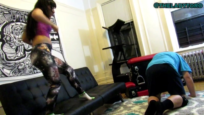 Notorious Femdom by Lady Toro – Lashes for the House slave. Starring Lady Toro  [domestic dungeon, casual mistress, Notorious Femdom by Lady Toro]