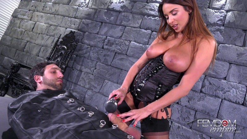 VICIOUS FEMDOM EMPIRE – Vibrator Penis Milking. Starring Anissa Kate  [forced orgasms, FORCED MALE ORGASM, vibrator]