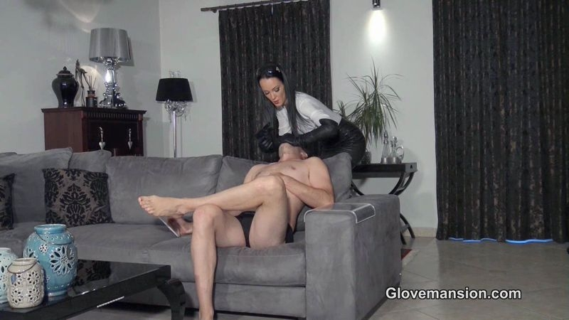 Glove Mansion – Hitwoman's orgasm challenge part 1. Starring Fetish Liza  [Glove Mansion, gloves fetish, Fetish Liza]