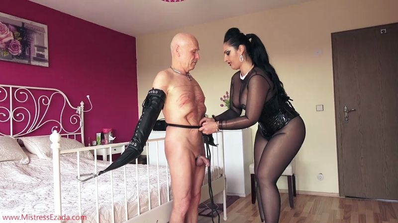 Mistress Ezada Sinn – Milking Chastity  [Sperm, Bondage Male, Chastity]