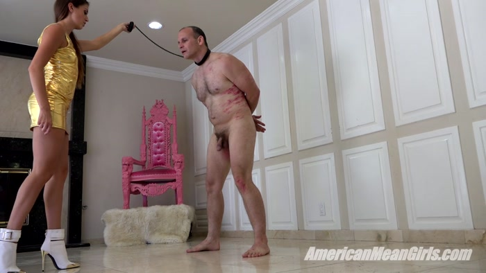 Watch or Download - The Mean Girls - Princess Beverly - Kicking Princess Bella's Slave (1080 HD) - ball crush, ballkicking, torture, pain - Release [16-05-2018]