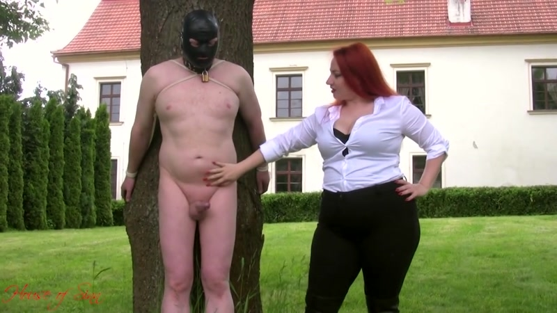 House of Sinn – Nothing more than a scratching post. Starring Lady Yna  [ball abuse, scratching, FEMALE DOMINATION]