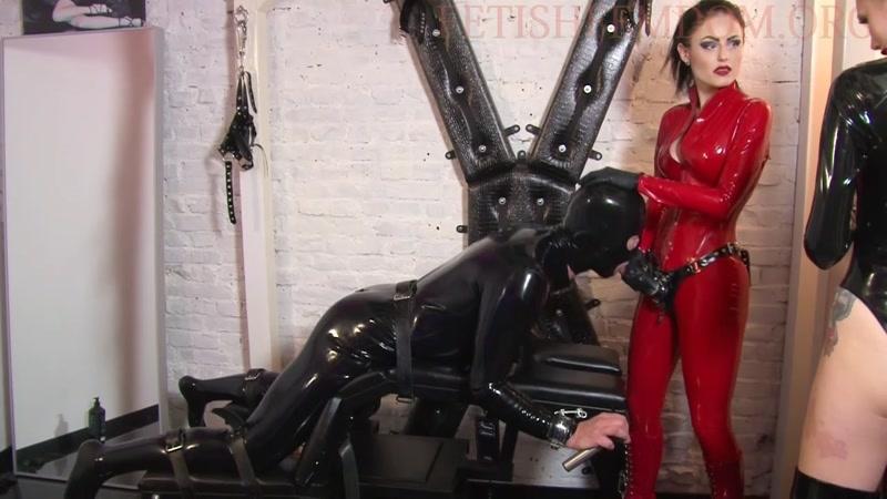 Mistress Blackdiamoond – StrapOn – Bitch. Starring Miss Aurelia  [PEGGING, Anal, ass]