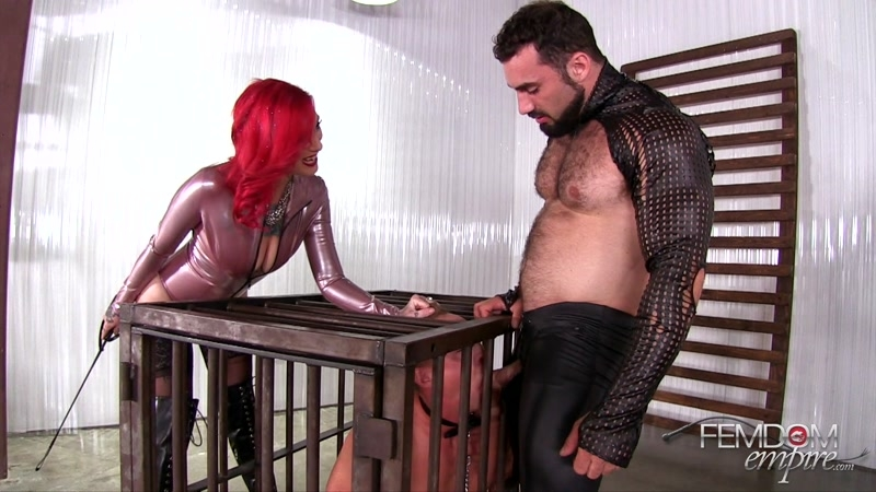 VICIOUS FEMDOM EMPIRE – Submissive Cuckold. Starring Mistress Sully and Master Jaxton  [cuckolding, FORCED BI, jaxton wheeler]