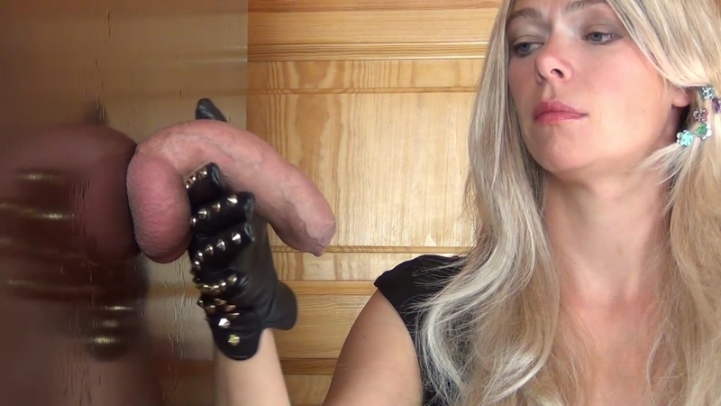 Aballs and cock crushing sexbomb – Cum Drinking, Ruined Orgasm, Edging Handjob in rough Leather Gloves feat. Alina  [Aballs and cock crushing sexbomb, Alina, CUM SWALLOWERS]