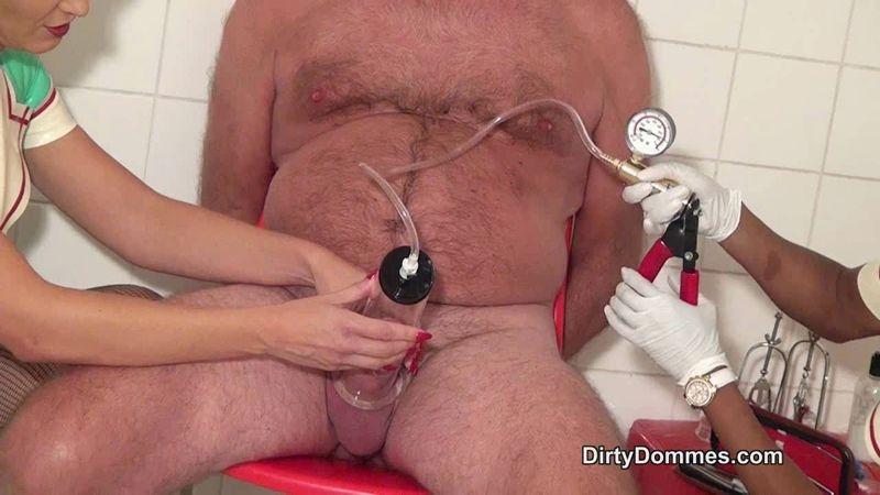 Dirty Dommes – SOUNDING BY LATEX NURSES. Starring Fetish Liza  [Fetish Liza, PANTYHOSE, HIGH HEELS]