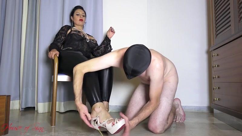 Mistress Ezada Sinn – Totally ruined by My feet  [ORGASM CONTROL, CBT, ball abuse]