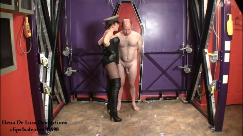 Fascist FemDom – Welcome to Boot Camp. Starring Elena De Luca  [CFNM, cleavage, Training]
