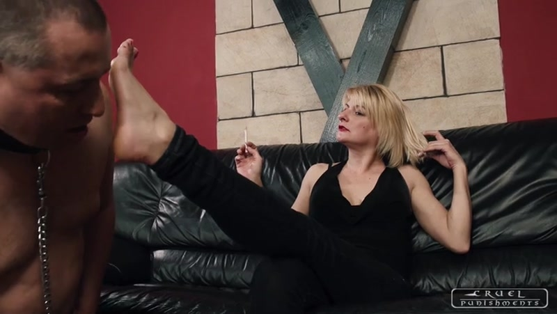 CRUEL PUNISHMENTS – SEVERE FEMDOM – Sole and armpit licking. Starring Mistress Bonnie  [Elegant Femdom, boot worship, HARD FACE SLAPPING]