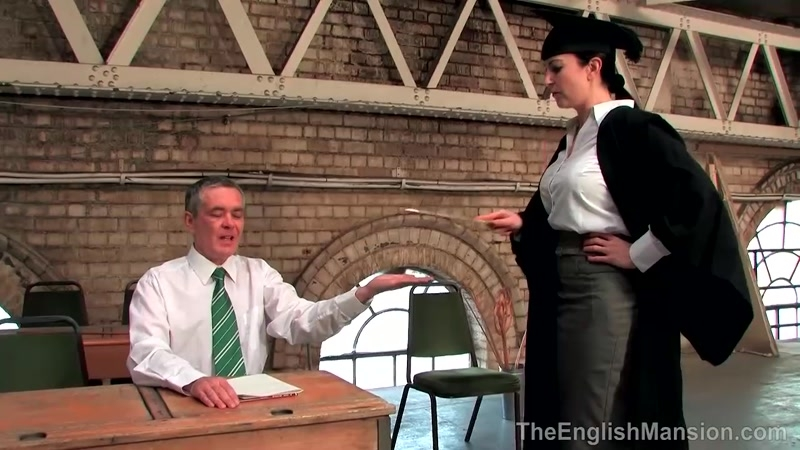 BITCH WORLD FEMDOM – Strict Schoolmarm. Starring Miss Jessica  [SCHOOL UNIFORM, spanking, ADULT SCHOOL]