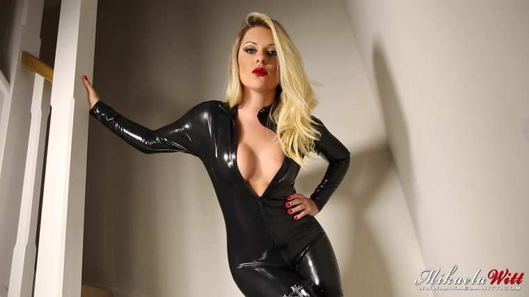 Watch or Download - Mikaela Witt - Latex Catsuit Blackmail -  - Release [10-08-2016]