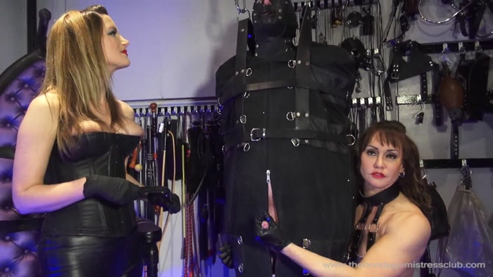 Watch or Download - The Bondage Mistress Club - Nikki Whiplash, Miss Miranda, Nikki Whiplash - Hogging The Seat -  - Release [27-09-2016]