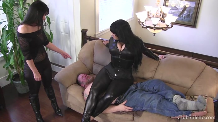 Watch or Download - Club Stiletto - Samantha Mack, Mistress Kandy - We Punish Men (Ass Smother) - Club Stiletto, Samantha Mack, Mistress - Release [06-10-2016]
