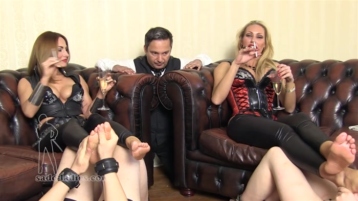 Watch or Download - SADO LADIES - Lady Dana, Countess Constance - How Lordly Ladies Relax - Constance, SMOKING, FEMALE DOMINATION, FOOT - Release [11-11-2016]