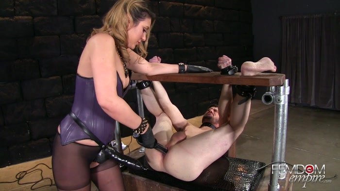 Watch or Download - FEMDOM EMPIRE - Mistress Kylie - Black Cock Whore - on fucking, big dildo, anal - Release [20-11-2016]