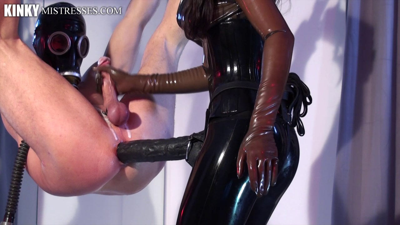 Watch or Download - Kinkymistresses - Mistress Susi - Strap-on Suspension - fucking, big dildo, anal play - Release [02-02-2017]