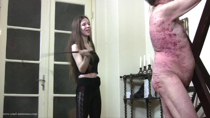 Watch or Download - Cruel Mistresses - Mistress Tatjana, Mistress Victoria - Cruel Godess and Her Guest - spanking men, bare bottom spanking - Release [07-02-2017]