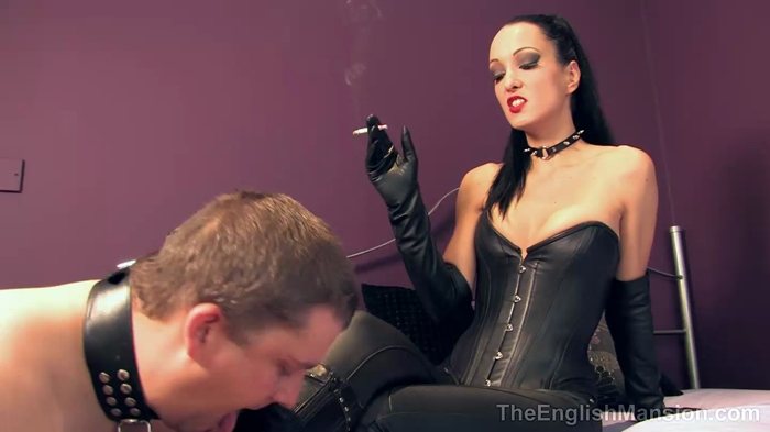 Watch or Download - The English Mansion – Fetish Liza – Smoking Leather Bitch - The English Mansion, Fetish Liza - Release [09-03-2017]