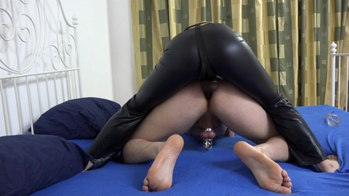 Watch or Download - Mira Cuckold - A Fantastic News - pegging, strapon fucking, strapon sucking - Release [27-03-2017]