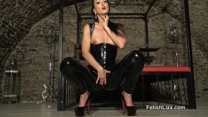 Watch or Download - Fetish Liza - Hard for My latex leggings Part 1 - Domination, Cum Countdown, Mesmerize, Mind - Release [15-07-2017]