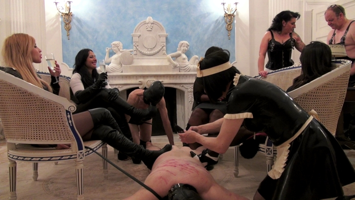 Watch or Download - UK Black Mistress - Mistress Ezada, Madame Caramel, Sophia Larou, Mistress Ava von Medisin - Chatty Mistresses - training, HUMILIATION, JOI, MASTURBATION HUMILIATION - Release [22-07-2017]