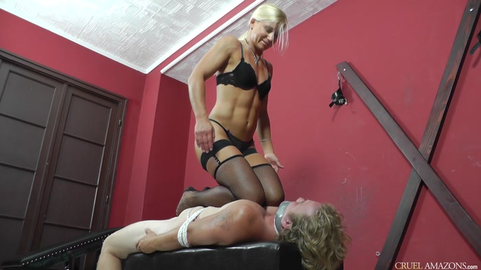 Watch or Download - CRUEL MISTRESSES - Mistress Zita - Comfortable position - CRUEL MISTRESSES, Mistress Zita, faceslapping - Release [06-08-2017]