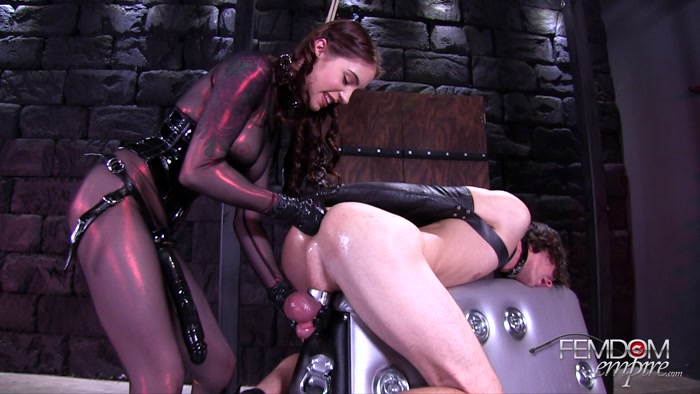 Watch or Download - Femdom Empire - Anna Deville - Split Wide Open - fuck, strapon in mouth, ass - Release [29-09-2017]