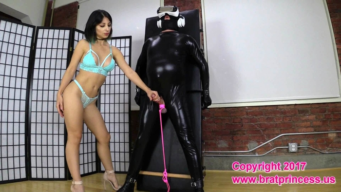 Watch or Download - BratPrincess - Alexa Rydel - Slave Strapped to Table Forced and Ruined - handjob domination, ruined orgasm, goddess - Release [03-10-2017]
