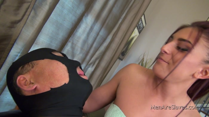 Watch or Download - Men Are Slaves - Dommes Mischa - From Mischa's Mouth - slave, spittingbitches, face spitting, spitting - Release [04-11-2017]