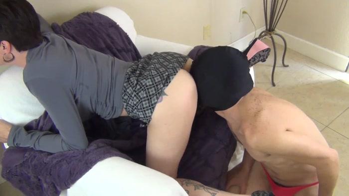 Watch or Download - Mrs Mischief - Cuck Hubby Sucks Out My Boyfriend's Creampie - Mrs Mischief, Facesitting, face fucking - Release [11-11-2017]