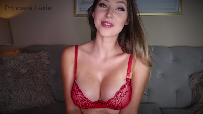 Watch or Download - Princess Lexie - Fallen Hard For My Tits - Worship, Findom, Tease and Denial - Release [15-11-2017]
