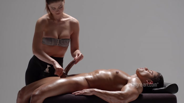 Watch or Download - Hegre-art - Playful Penis Massage - Hegre-art, handjob, femdom handjob - Release [25-11-2017]