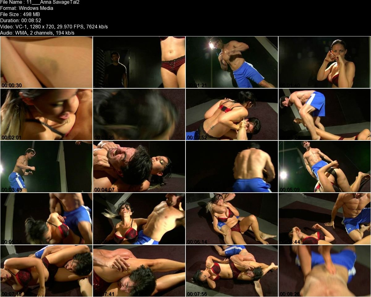 Watch or Download - BOTS Gold - Anna - Savage Tales: The Pit II - nude wrestling, naked wrestling, mixed - Release [29-11-2017]
