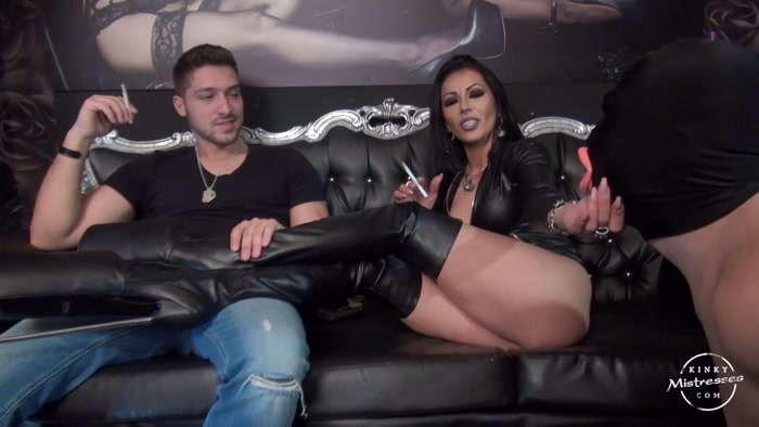 Mistress Kennya  New Plans To Humiliate My Hubby Smoking -1121