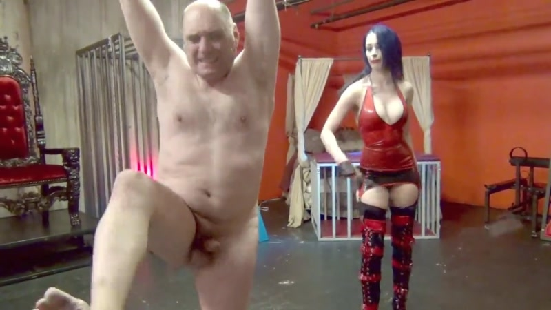 DomNation – TEAR HIS FLESH, BREAK HIS WILL (Parts 1 & 2 COMPILATION). Starring Mistress January Seraph (Standard Version)  [DomNation, leather whip, bondage]