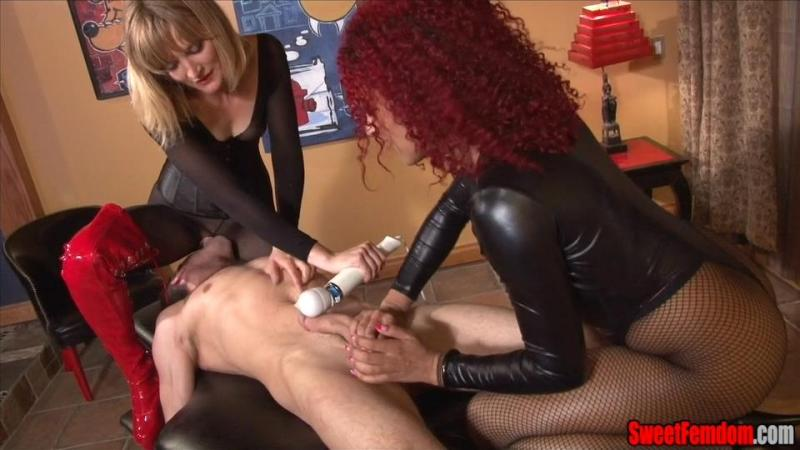 Watch or Download - SweetFemdom - Mona Wales, Daisy Ducati - Slave Tongue vs. Hitachi Race - SweetFemdom, Daisy Ducati, Mona Wales - Release [17-10-2015]
