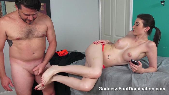 Watch or Download - Goddess Foot Domination - Angelina Diamanti - Masseuse Strikes a Deal - orgasm, goddess handjobs, femdomcc, forced - Release [11-07-2018]