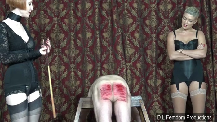 Watch or Download - Domina Liza, The Hunteress - Caning in Corsetry - cruel, corporal punishment, femdom spanking - Release [15-07-2018]