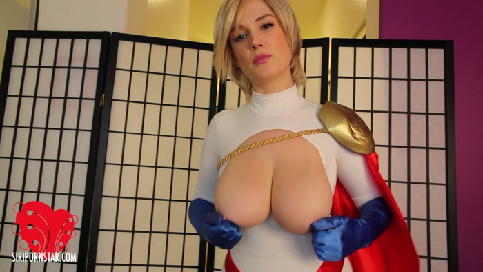 Watch or Download - Power Girl Siri - Hypno Boobs Jerk Off Instructions - pov, jerkoff instructions, masturbation instruction - Release [07-08-2018]