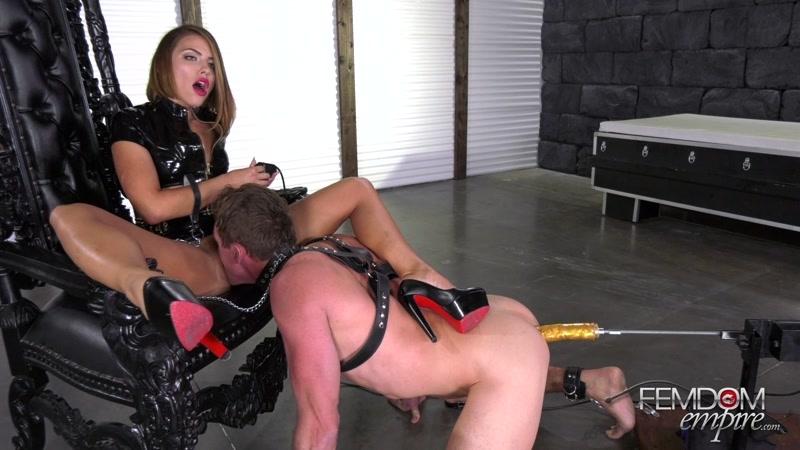 Lesbian Ass Eating Slave