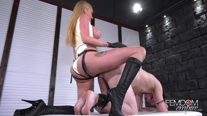 Watch or Download - Femdom Empire - Raven Bay - Cuckold's Pegging - play, dildo, femdomcc, pegging, strapon - Release [10-10-2018]