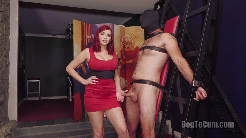 Mistress Teases Male Slave