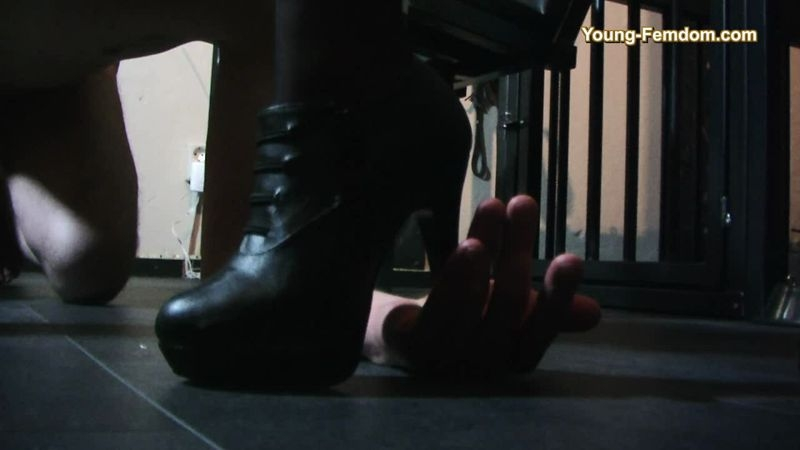 YOUNG-FEMDOM- Brutal German Girls – Let`s test something new  [face sitting, trampling, ass worship]