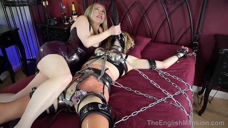 The English Mansion – Chastity Bound – Complete Film. Starring Miss Jade Jones and Mistress Sidonia  [Femdom 2018, DOUBLE DOMINATION, Sidonia]