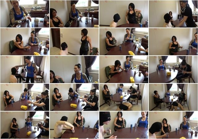 Ab's CBT Dangerous Girls – Snot and puke  [Lady Chantal, vomit, snot]