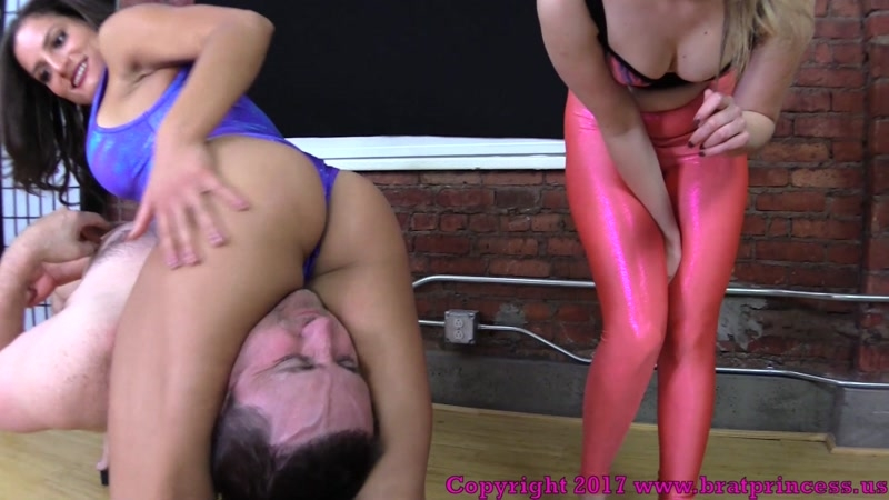 Brat Princess 2 – ChiChi and Kendall – Advanced Scissoring Techniques Part 1  [figure 4, Femdom 2018, wrestling]