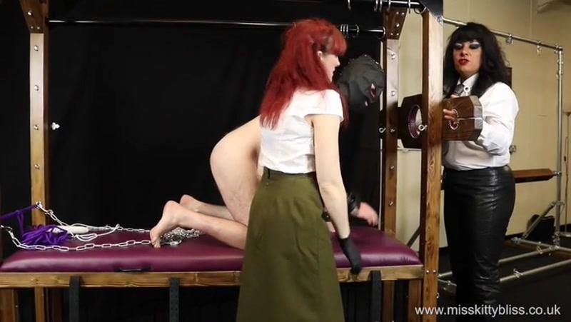 Miss Kitty Bliss – A Sobering Experience  [redhead, sadist, slapped]