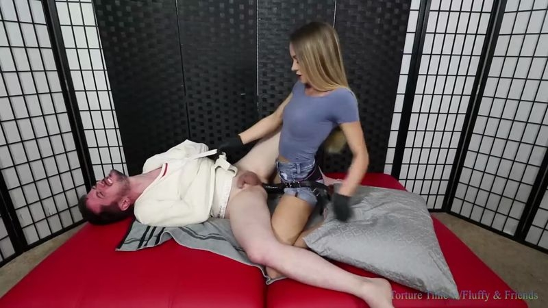 Torture Time – Foot Chastity – Featuring Naomi Swann  [ass, beautiful toes, dress]