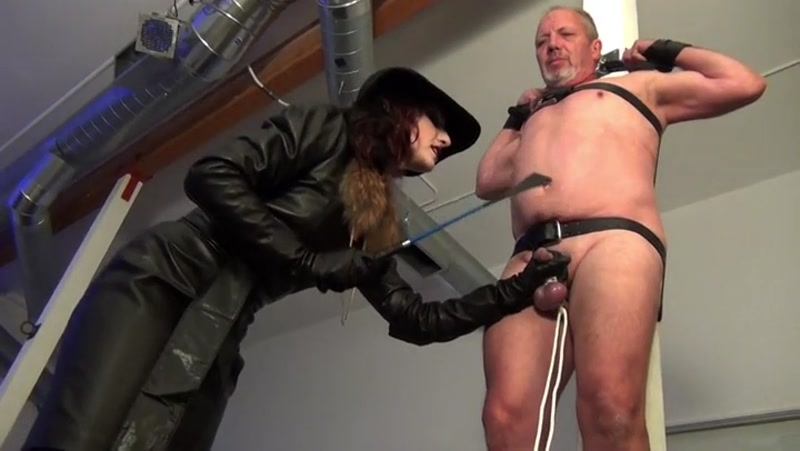 DomNation – A BULLWHIP COCKFAIL PARTY! Part 2 Starring Mistress Cybill Troy  [Dominatrix, cock whipping, FEMALE DOMINATION]